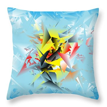 Out Of The Blue 5 Throw Pillow