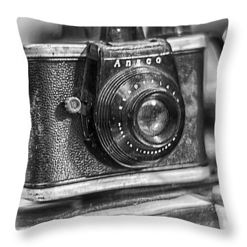 Throw Pillow featuring the photograph Out Of The Box by Bitter Buffalo Photography