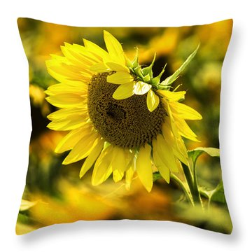 Out Of The Crowd Throw Pillow