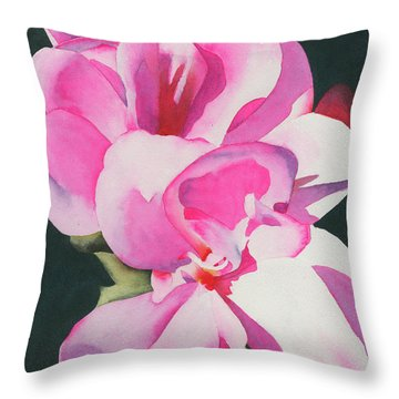 Out Of The Darkness Throw Pillow by Ken Powers
