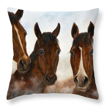 Out Of The Fog  Sold Throw Pillow