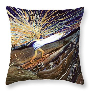 Out Of The Miry Clay 2 Throw Pillow
