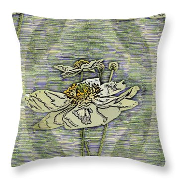 Out Of The Mist 2 Throw Pillow by Tim Allen