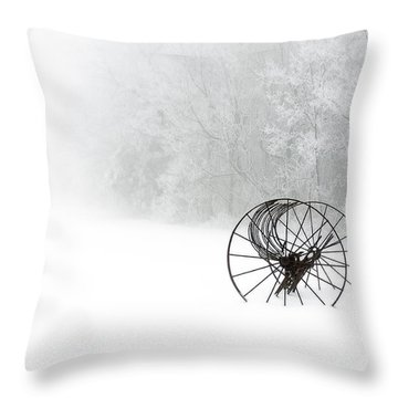 Out Of The Mist A Forgotten Era 2014 Throw Pillow