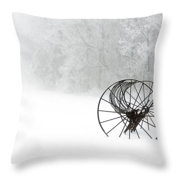 Out Of The Mist A Forgotten Era 2014 II Throw Pillow