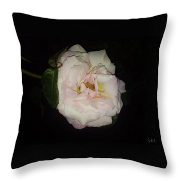 Out Of The Night Throw Pillow by Sherry Flaker