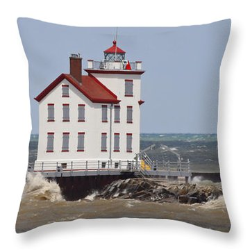 Out Of The Northwest Throw Pillow