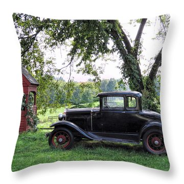 Out Of The Past Throw Pillow