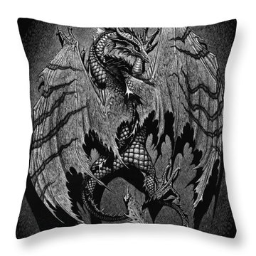 Throw Pillow featuring the digital art Out Of The Shadows by Stanley Morrison