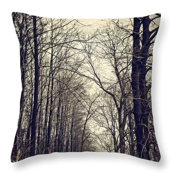Out Of The Soil - Into The Forest Throw Pillow