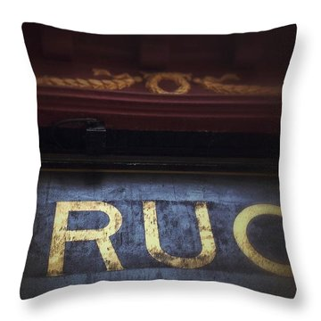 Throw Pillow featuring the photograph Out Of The Store by Olivier Calas