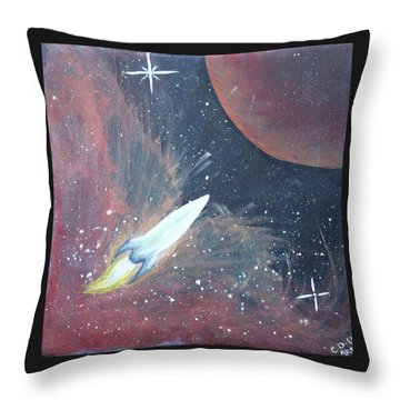 Out Of This World Throw Pillow by Cyrionna The Cyerial Artist