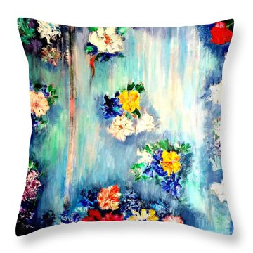 Out Of Time II Throw Pillow