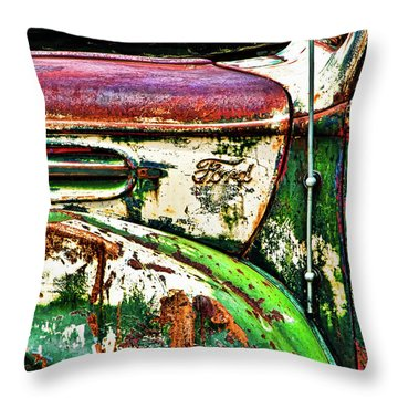 Out Of Warrantee Throw Pillow