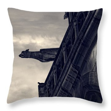 Out There Throw Pillow by John Hansen