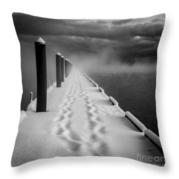 Out To The End Throw Pillow
