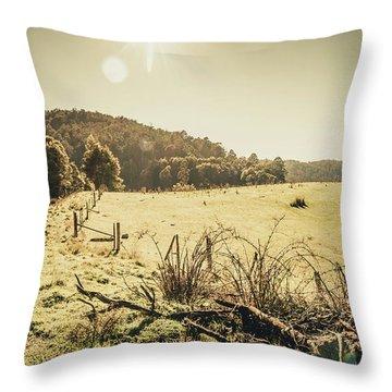 Outback Bound Throw Pillow