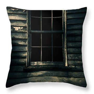 Throw Pillow featuring the photograph Outback House Of Horrors by Jorgo Photography - Wall Art Gallery