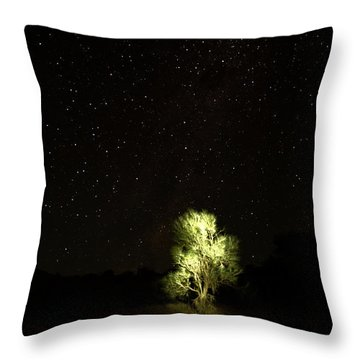 Throw Pillow featuring the photograph Outback Light by Paul Svensen