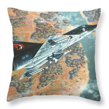 Outback Mirage Throw Pillow