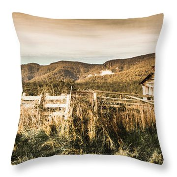 Outback Obsolescence  Throw Pillow