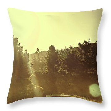 Outback Radiance Throw Pillow