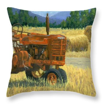 Outdated Throw Pillow