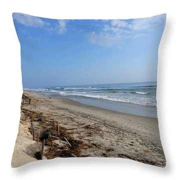Outer Banks Morning Throw Pillow