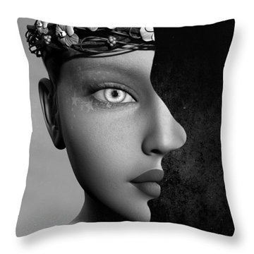 Outer Persona Throw Pillow