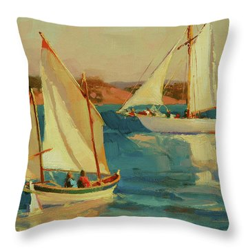 Outing Throw Pillow