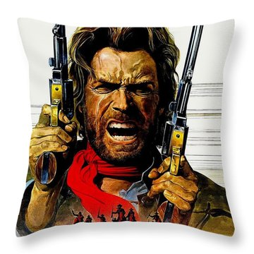Outlaw Josey Wales The Throw Pillow