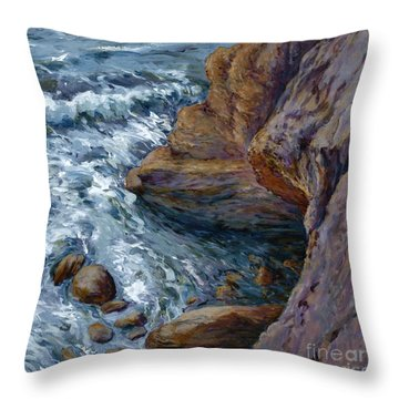 Outrush Throw Pillow