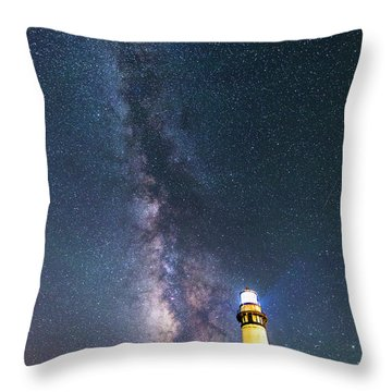 Throw Pillow featuring the photograph Outshining The Day by Alex Lapidus
