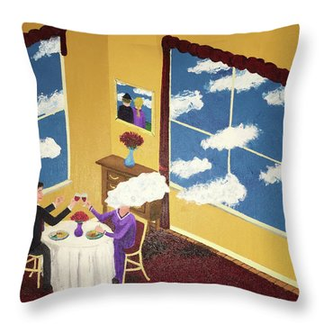 Outside In Throw Pillow