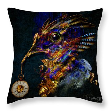 Outside Of Time Throw Pillow