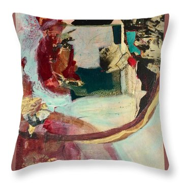 Outside The Realm Throw Pillow