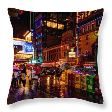 Outside The Square 023 Throw Pillow