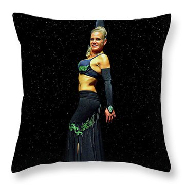 Outstanding Performance Throw Pillow