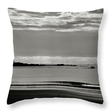 Outward Bound Throw Pillow
