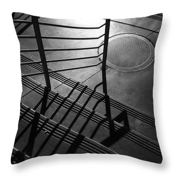 Ovation Throw Pillow by Skip Hunt