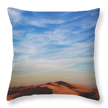 Over And Over Throw Pillow