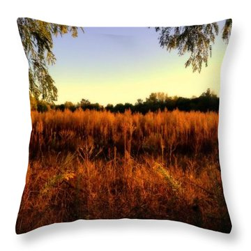 Over Grown Throw Pillow