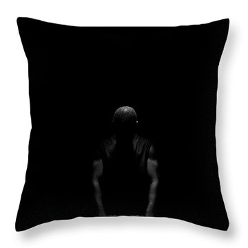 Throw Pillow featuring the photograph Over Me by Eric Christopher Jackson