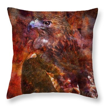 Over My Shoulder 2015 Throw Pillow