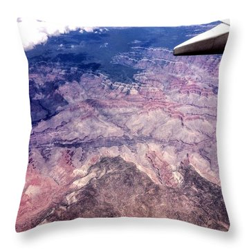 Over The Canyon Throw Pillow