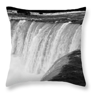 Over The Dam Throw Pillow