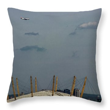 Over The Dome Throw Pillow