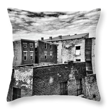 Over The Rhine Throw Pillow