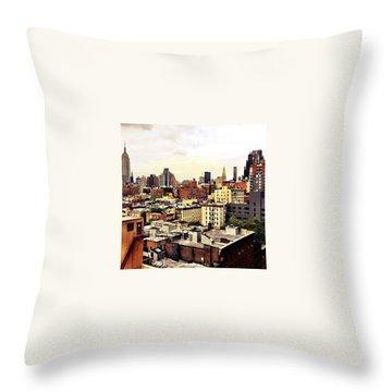 Manhattan Throw Pillows