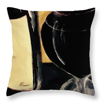 Over The Top Throw Pillow by Lisa Kaiser